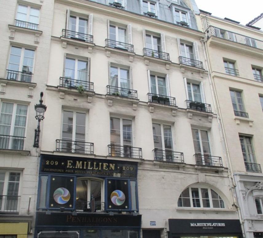 Ravalement-209 rue Saint-Honoré-Avant-EuroDecor